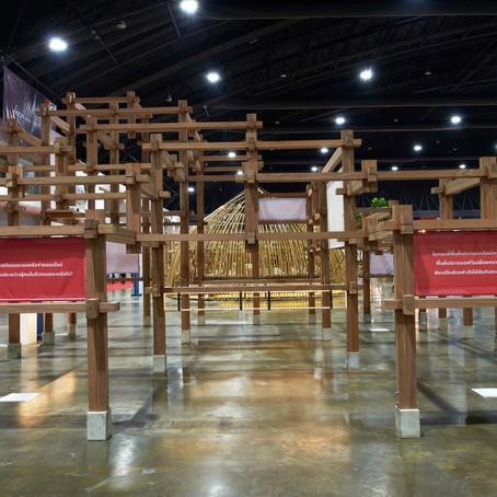 Making of the pavilion - Moving system by ศ.ดร.วีระ อินพันทัง และพิช โปษยานนท์