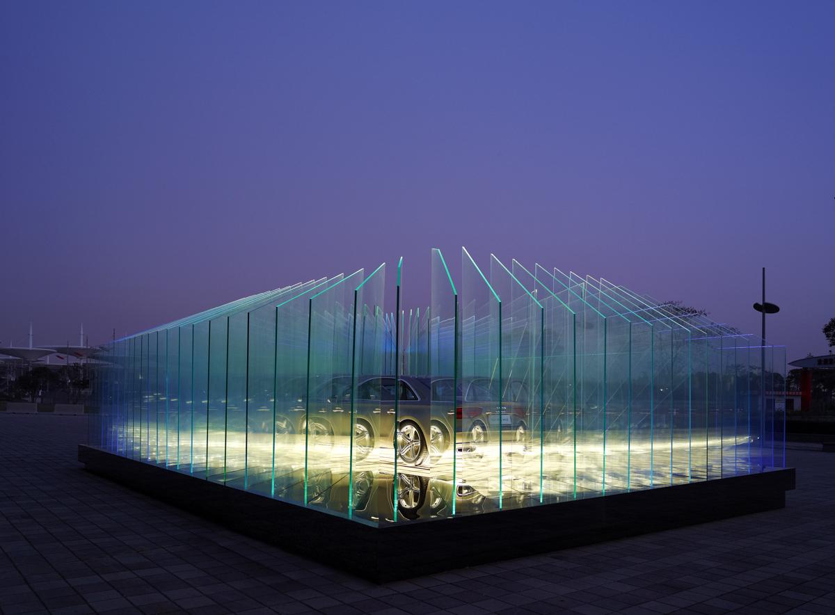 Audi Haus, Shanghai, China 2011