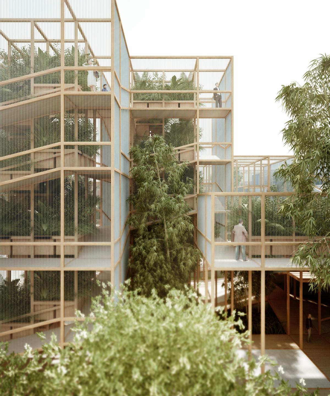 A Thousand Yards Botanical Pavilion