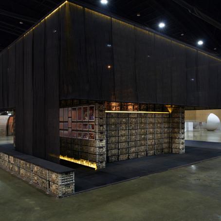 Making of the pavilion : Living space โดย บุญเลิศ เหมวิจิตรพันธ์