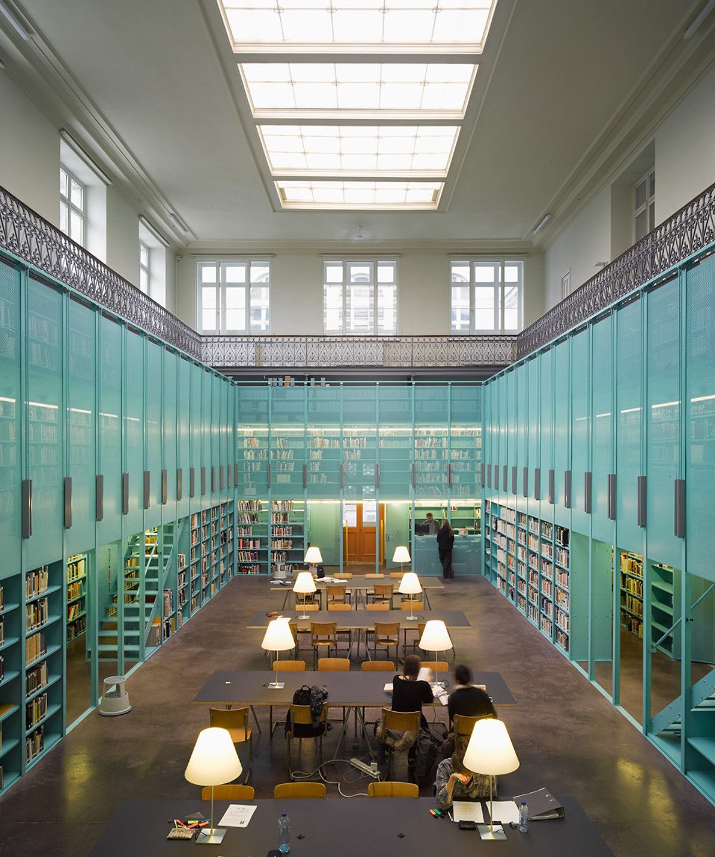 University Library, B-Ghent 2014
