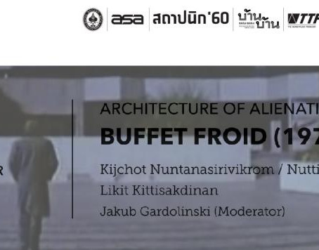 ASA FILM ON DWELLING no.3 (Buffet Froid)