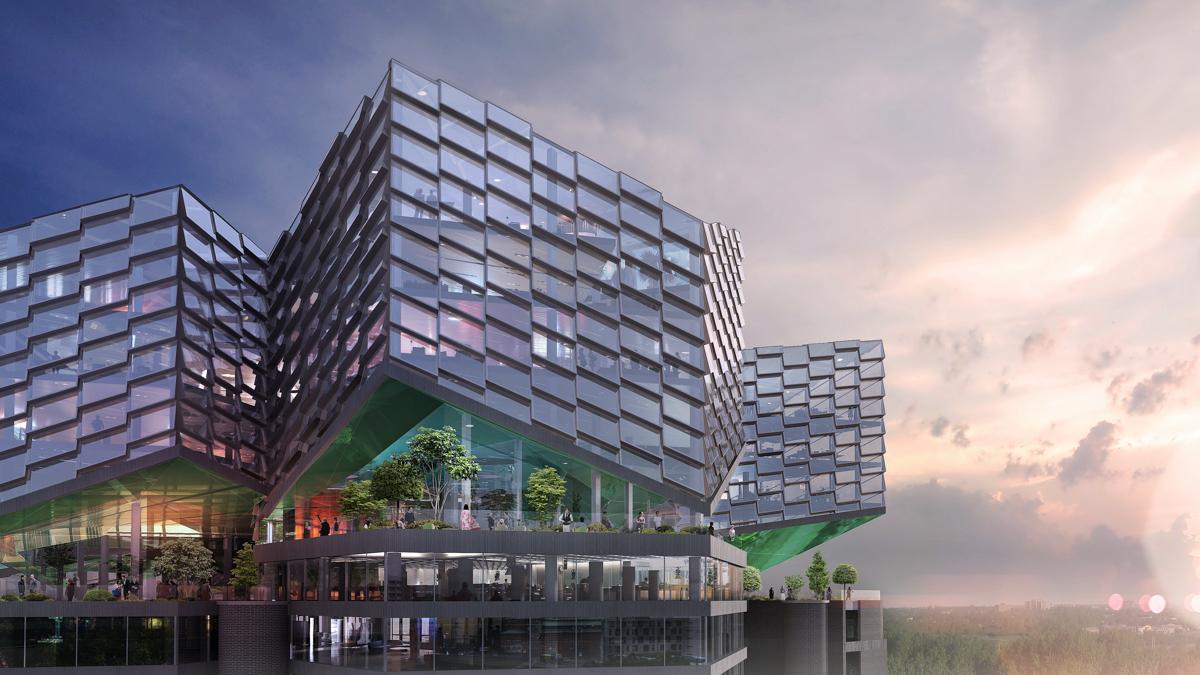 BRADSTAPELN BUILDING Stockholm