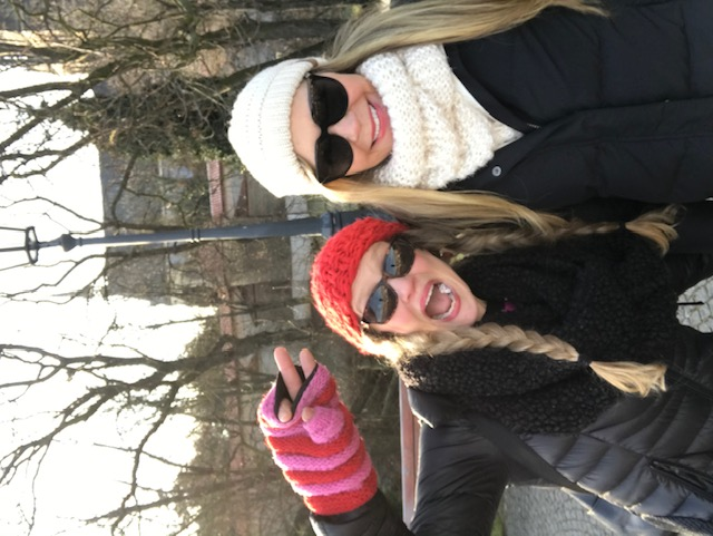 Me and Lin at Vysehrad castle