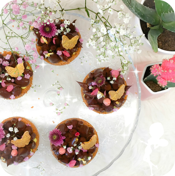 """TARTES CHOCO YUZU & POIVRE VOATSIPERYFERY""                             (Gluten&la"