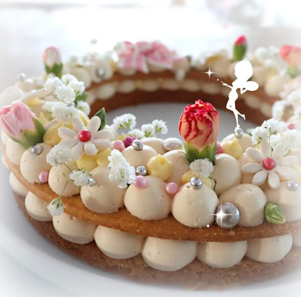"""""""Jolie tarte florale"""""""