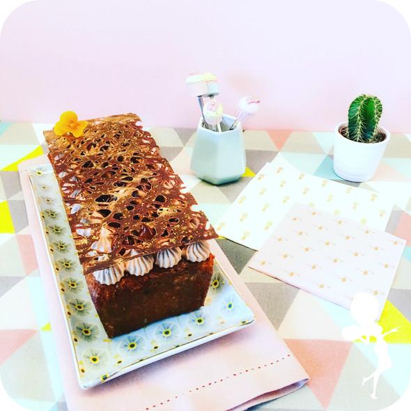 """""""CAKE RIBOT POIRE TONKA CHOCO"""""""