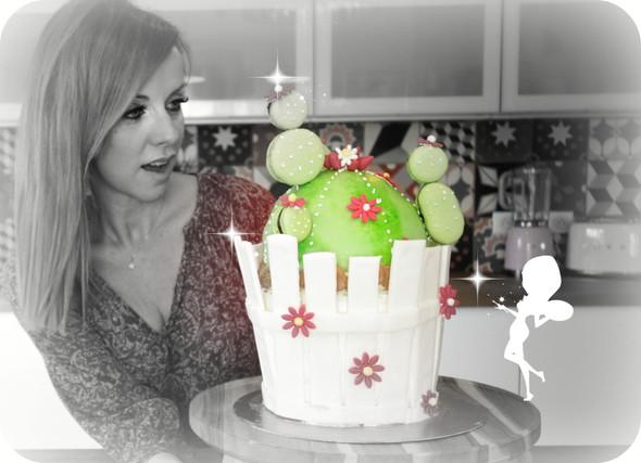 """""""Cactus Layer cake"""""""