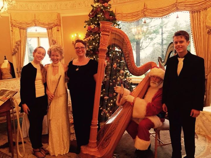 Christmas at the Pittock Mansion a few years ago.