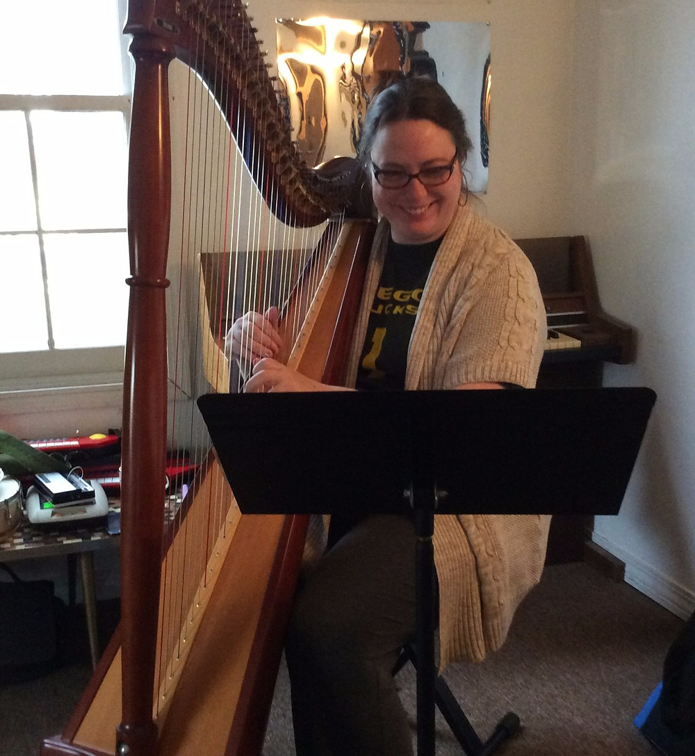 weekend lever harp fun