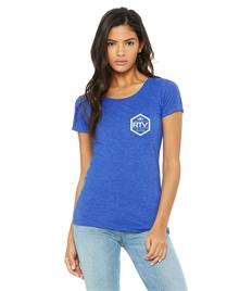 RTV Blue T-Shirt - Womens