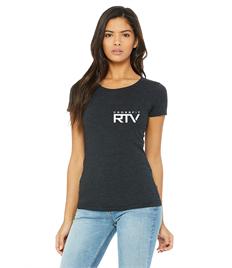 RTV Barbell T-Shirt - Womens