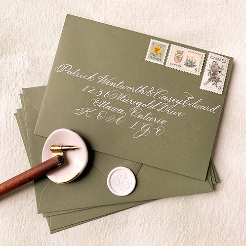 Classic Calligraphy Envelopes