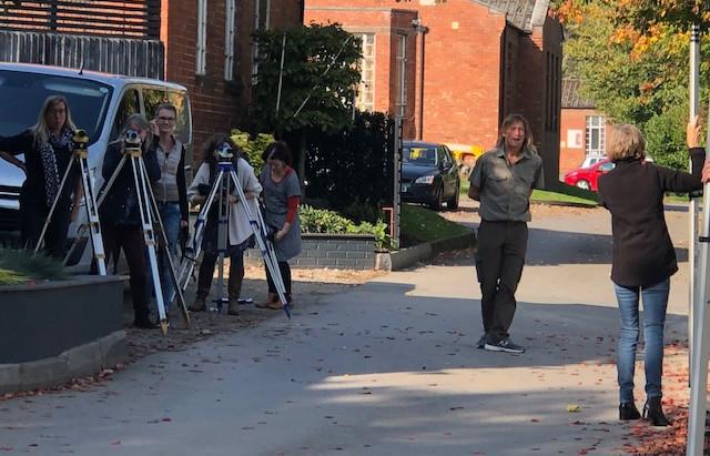 Surveying or Paparazzi?!?