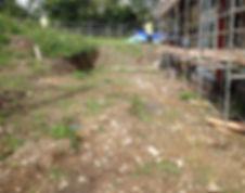 FEWTRELL - Bryn Heulog Patio area BEFORE