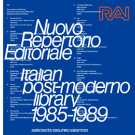 tatsuhiko sakamoto / RAI Nuovo Repertorio Editoriale Italian post-moderno librar