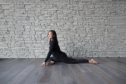 Pigoen Yoga Pose