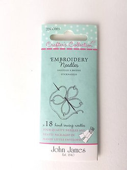 John James Crafters Embroidery Needles