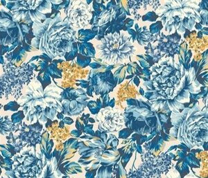 Liberty Emporium Wild Bloom Blue