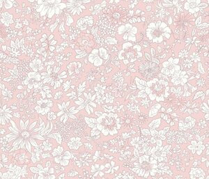 Liberty Spring Emily Silhouette Flower Pink