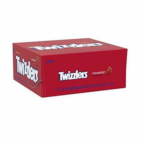 Twizzlers Twists Strawberry Licorice 18ct. Box