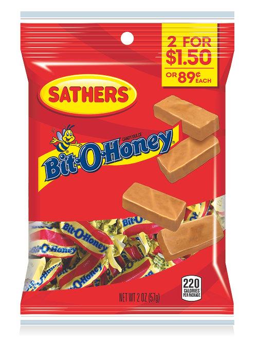 Sathers Bit-O-Honey 12ct. Box