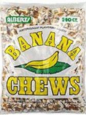 Albert's Chews Banana 240ct.