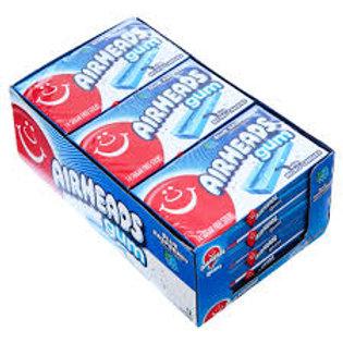 Airheads Gum Blue Raspberry 12ct.