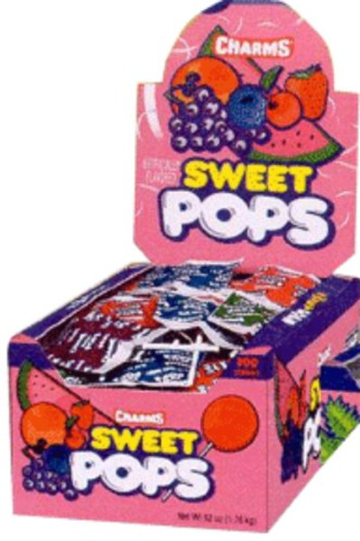 Charms Blow Pops Sweet Pops 48ct.