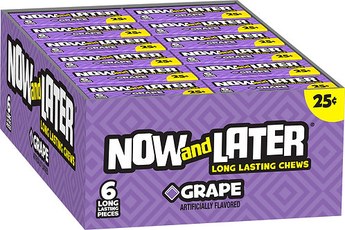 Now & Later Grape 24ct.