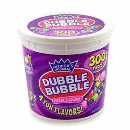 Dubble Bubble Gum Assorted 300ct. Tub