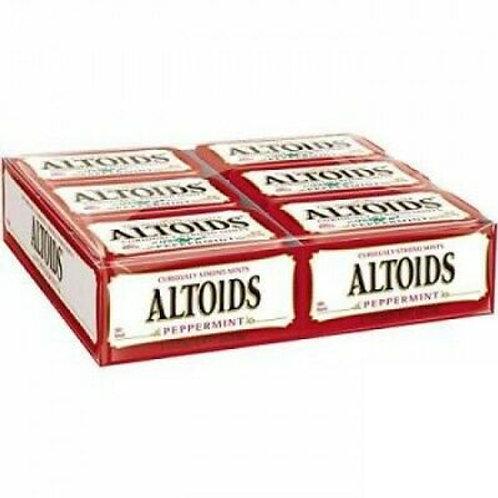 Altoids Mints Peppermint 1.76oz 12ct. Tin