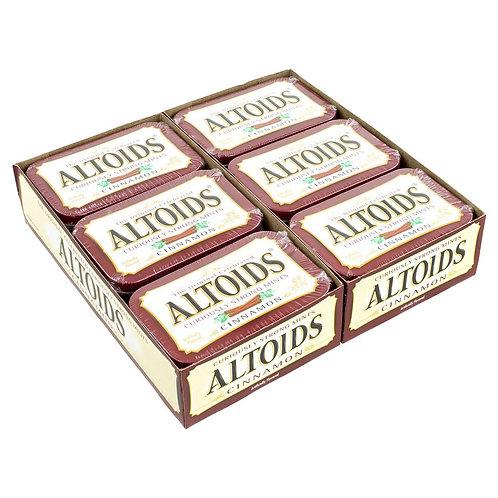 Altoids Mints Cinnamon 1.76oz 12ct. Tin