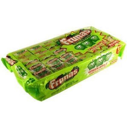 Frunas Fruit Chews Green Apple 48ct.