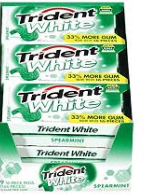 Trident White Spearmint 9ct.