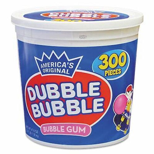 Dubble Bubble Bubble Gum 300ct. Tub