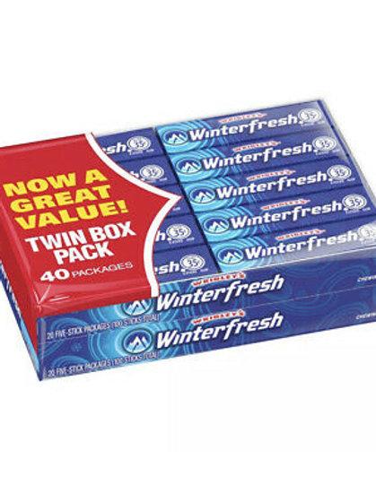 Wrigley's Winterfresh Chewing Gum 40ct.
