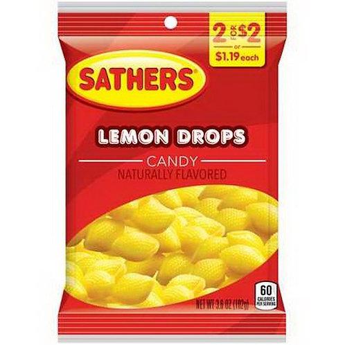 Sathers Lemon Drop 12ct. Box