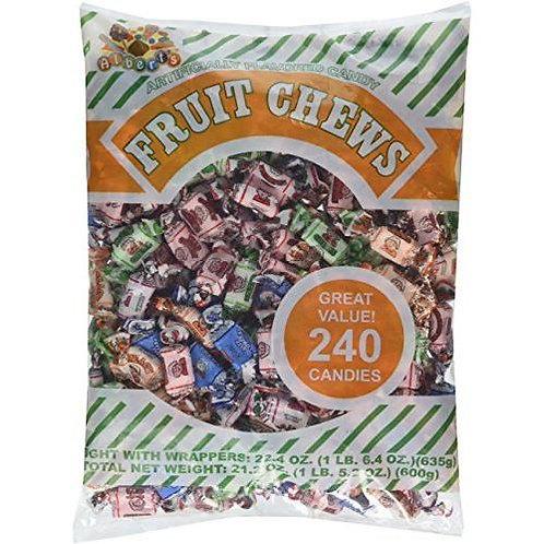 Albert's Chews Assorted Fruit 240ct.