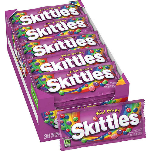 Skittles Wild Berry 2.17oz 36ct.