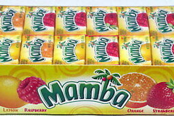 Mamba Fruit Chews Candy Original 48ct.