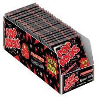 Pop Rocks Strawberry 24ct.