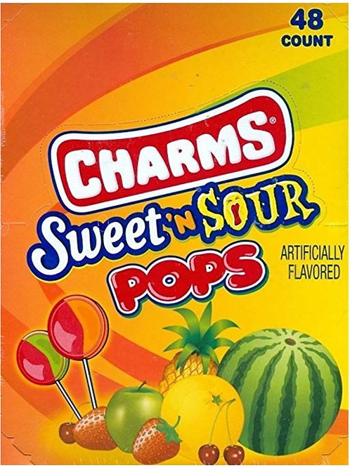 Charms Blow Pops Sweet'n Sour 48ct.