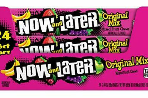 Now & Later Original Mix 2.44oz 24ct.