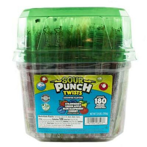 Sour Punch Twists Assorted 180ct.