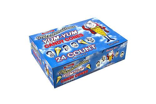 Marshmallow Yum Yum Cones 24ct.