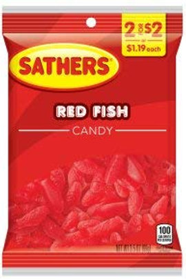 Sathers Red Fish 12ct. Box