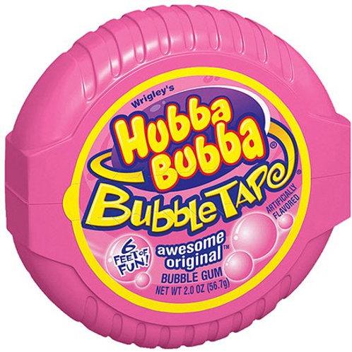 Hubba Bubba Awesome Original Bubble Tape Bubble Gum 2oz 6ct.