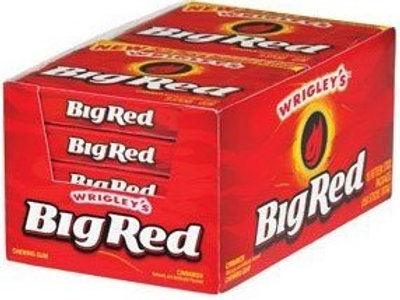 Wrigley's Big Red Chewing Gum 15pc 10ct.