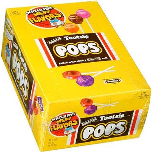 Tootsie Pops Assorted 100ct.